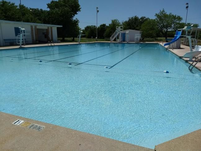 The Abilene Swim Club Pool